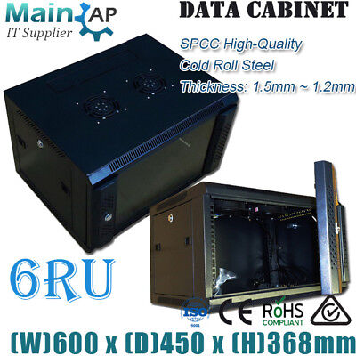 NEW 6RU 600mmX450mm Wall Mount SERVER CABINET