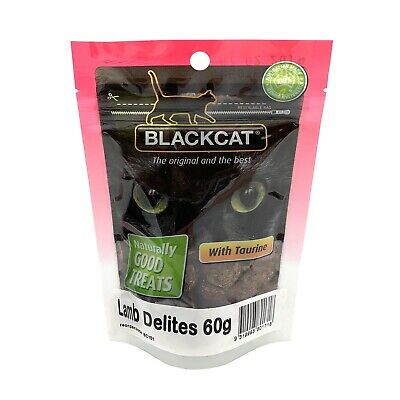 BlackCat Treats for Cats - Lamb Delites 60g