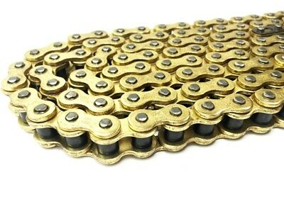 Brand New Heavy Duty GOLD Motorcycle Chain 420HD 84 Links for Yamaha PW80 91-11