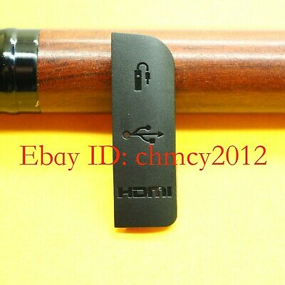 USB / AV OUT/ HDMI/ MIC Rubber Cover for Canon EOS 1100D EOS Rebel T3 /  Kiss X50