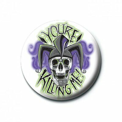 Suicide Squad Pin Badge 'You're Killing Me' 25mm Badge Official