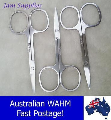 Stainless Steel Nail Scissors, Single and lots of  3 & 10