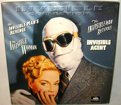 THE INVISIBLE COLLECTION Laser Disc MCA UNIVERSAL (WR7)