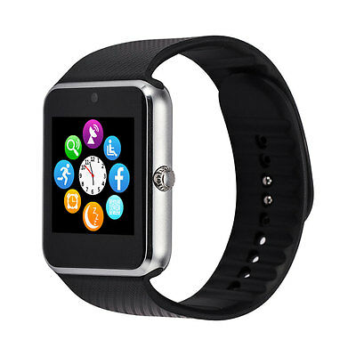 GT08 GSM/GPRS SMS Bluetooth Smartwatch For Android iphone Reloj Inteligente