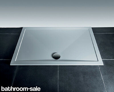 Ultimate Modern Dome 25mm Shower Tray Square 900mm inc. Dome Waste   RRP: £229