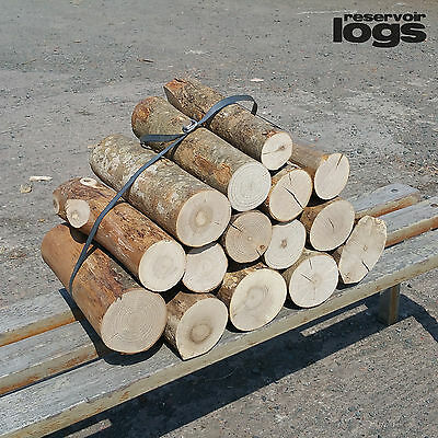 Full Round Hardwood Decorative Ash Logs Varied Diameter Covers Fine Sawn Ends