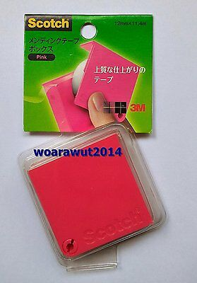 """Scotch colorful portable dispenser 2 """" x 2"""" with magic tape"""