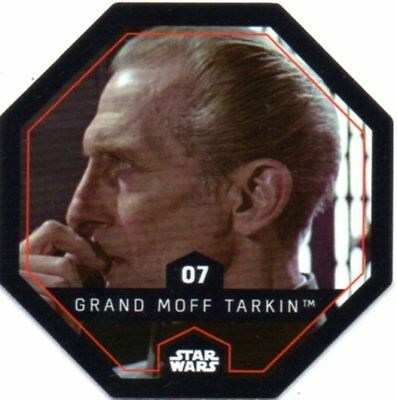 Jeton Cosmic Shells Star Wars Leclerc n°7 GRAND MOFF TARKIN
