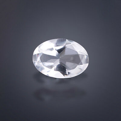Rock crystal ab 6x4mm - 24x16mm Oval / facetted / Quartz