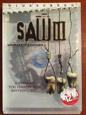 Saw III (DVD, Widescreen, unrated edition, 2006) - E0527