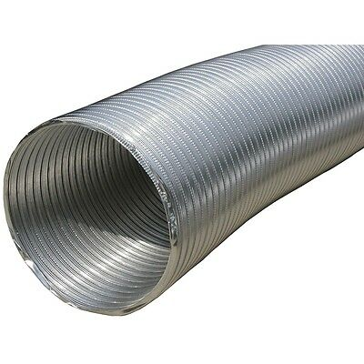 "NEW Builders Best 110412 Semi-rigid Aluminum Duct, 8ft (10"" Dia)"