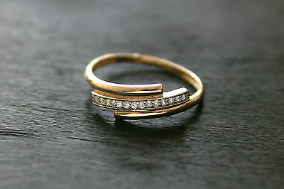 585 Russian Rose 14k Gold  Beauty Ring Size P 18 Gift boxed