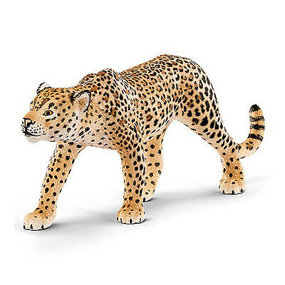 Schleich 14748 Leopard Toy Wild Animal Figurine 2016 - NIP