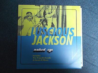 "Luscious Jackson Naked Eye 12"" Capitol Records 1997 12CL 786"