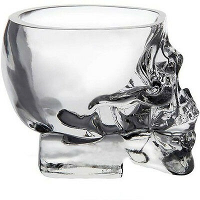Cool Crystal Skull Head Vodka Whiskey Shot Glass Cup Drinking Ware Home Bar Cup