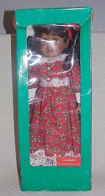 """New in box Warmest Wishes CONSTANCE 16"""" collectible porcelain doll"""