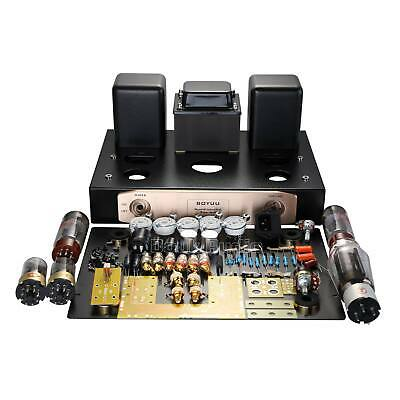 EL34 Valve Tube Amplifier Single-ended ClassA HiFi Stereo Amp DIY Kit Audiophile