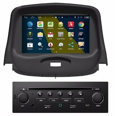 In Dash Car GPS Navigation DVD Radio Stereo For Peugeot 206 2004-2008 +Canbus
