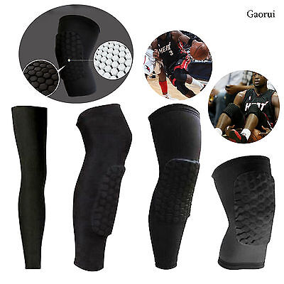 Honeycomb Kneecap Basketball Kneecap Sponge Knee Pad Protector Leg Guard Sleeve