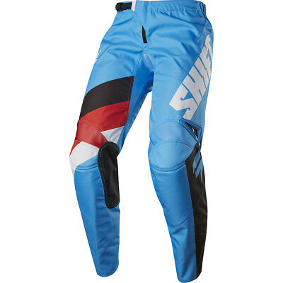 Shift 2017 NEW Mx Gear WHIT3 Label Tarmac Red White Black Blue Motocross Pants