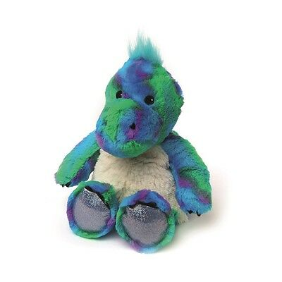 Warmies Cozy Plush SPARKLY DINOSAUR Lavender Scented Microwavable Toy