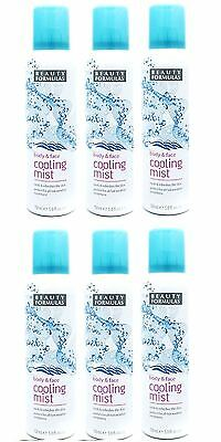 Beauty Formulas Cooling Water Spray Mist 150ml - Body & Face x3, 6, 12