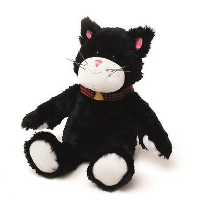 Warmies Cozy Plush Fully Microwavable BLACK CAT Lavender Scented Heatable Toy