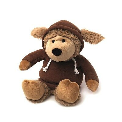 Warmies Cozy Plush HOODY BROWN SHEEP Microwavable Lavender Scented Toy