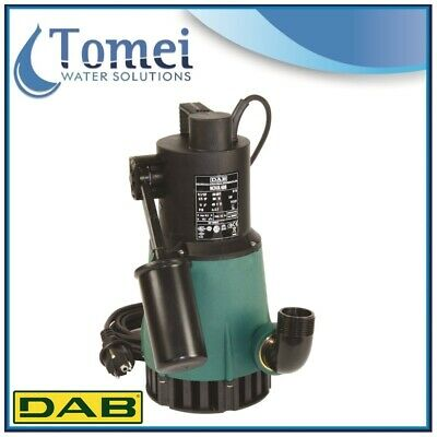 Submersible pump Clear water NOVA 600M-A SV 0,55Kw 1x230V 50Hz Float cable5m DAB