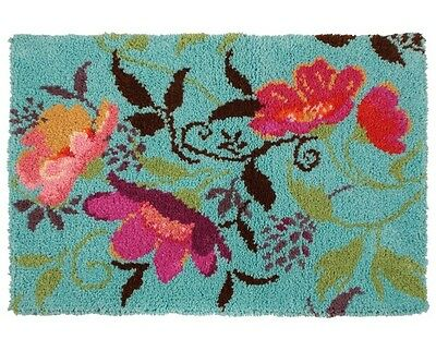Anchor - Maia - Wool - Latch Hook Rug Kit - Garlandia - Floral - 5678000-08000