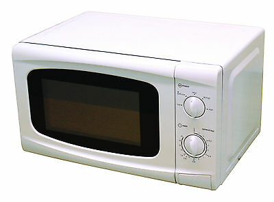 Lesuirewize White Camping Motorhome 800W 20L Low Wattage Cooking Microwave Oven