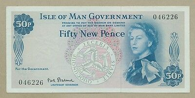 ISLE OF MAN - 50p, £1 - 1960s,70s,80s  SELECT FROM DROP-DOWN BOX  ( Banknotes )