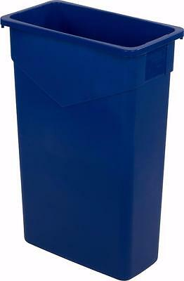 Carlisle 34202314 TrimLine Waste Container 23 Gallon Blue Case of 4