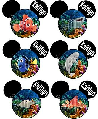 Personalized Disney Finding Dory Any Character Cruise Stateroom Door Magnet B3G1