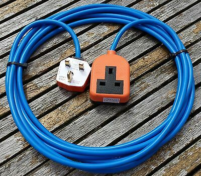 10 Meter Heavy Duty 1 Way Mains Electrical Extension Cable Lead Protech Cables