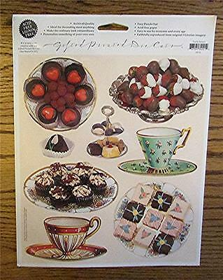 New Michel & Co./the Gifted Line Acid Free Tea & Dessert Printed Die-Cut Images