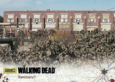 The Walking Dead Season 4 Pt.1 - Black Parallel Card 70