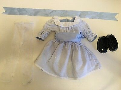 American Girl Doll Nellie Meet Dress Outfit Set 2004 Retired Pleasant Co