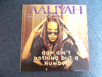 "Aaliyah Age Ain't Nothing But A Number 12"" Jive 1994 JIVE T 369 *NM*"