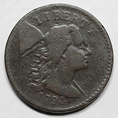 1794 S-51 R-4 MDS Head of '94 Liberty Cap Large Cent Coin 1c