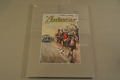 VINTAGE THE AUTOCAR Magazine Front Cover (Matted) 11/16/1945