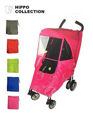 Hippo Collection Universal Stroller Weather Shield Rain Cover [US Seller]