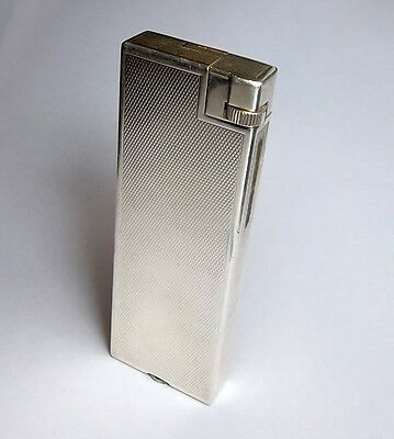 Dunhill Savory lighter, Barley pattern, 100% working