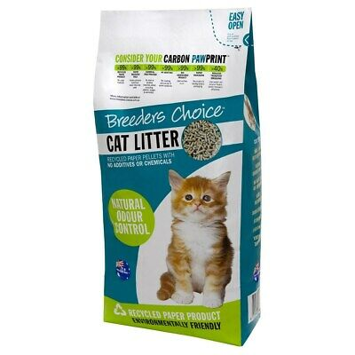 Breeders Choice Cat Litter Pellets - 15 Litres