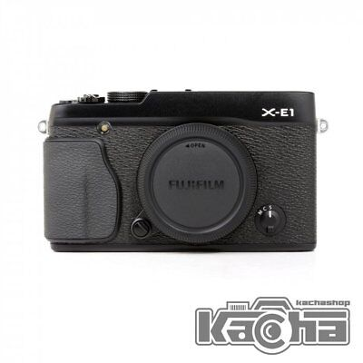 NEW Fujifilm Fuji X-E1 XE1 XE-1 Black Camera Body Only