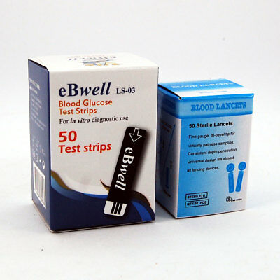 blood glucose test strips & blood lancets for FED BGM-II Blood Glucose Meter