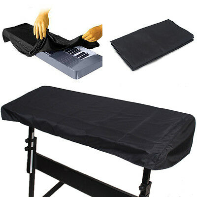 New Black Keyboard Dust Cover Waterproof Storage Bag for 61 and 88 Key Piano