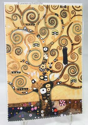 Glasses Cleaning cloth / Microfiber / Gustav KLIMT The Tree Of Life