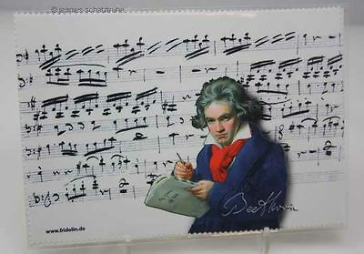 Glasses cleaning Cloth / Microfiber cloth / cloth Ludwig van Beethoven