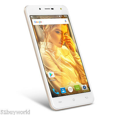 "Cellulare Smartphone 5"" Pollici Android 6.0 Quad Core Dual Sim GPS 8GB 3G UMTS"